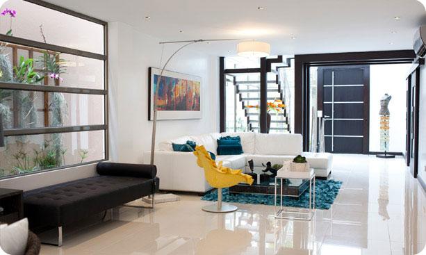 Verde y naranja diseno y decoracion de interiores for Decoradores
